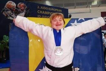 Hrabra Azra Dedić je evropska prvakinja u džudou